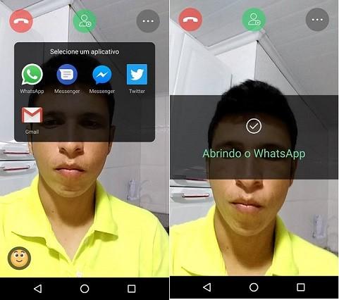 chamada de video whatsapp em grupo
